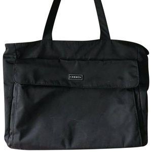 DKNY Black Large Nylon Bag